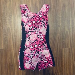 Girls gymnastic leotard - size 6/7